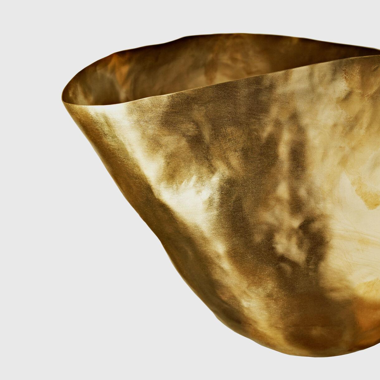 Bash Vessel Large Detailing in Brass