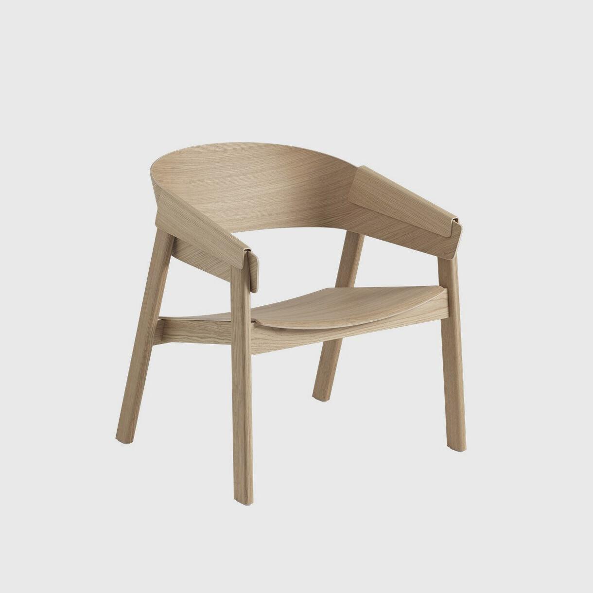 Cover Lounge Chair, Oak