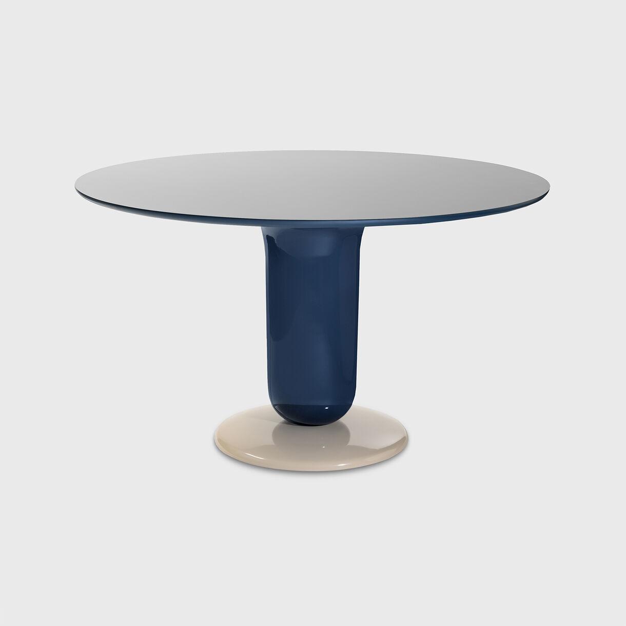 Explorer 4 Dining Table, Multicolour Blue