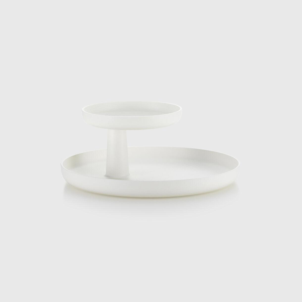 Rotary Tray, White