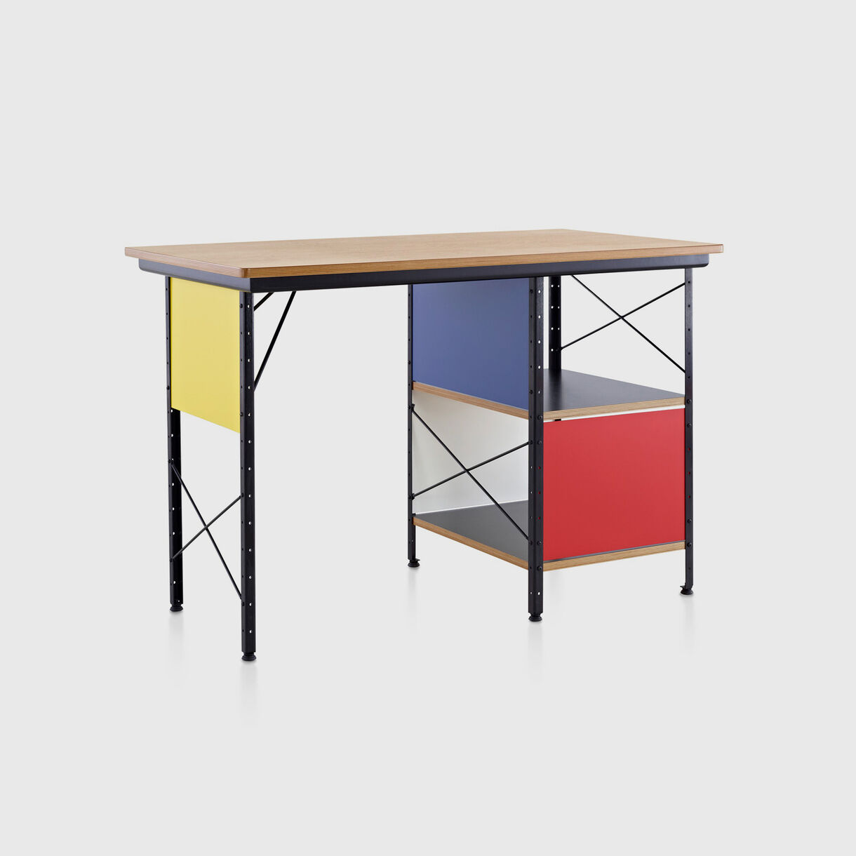Eames Desk Unit, Open Storage