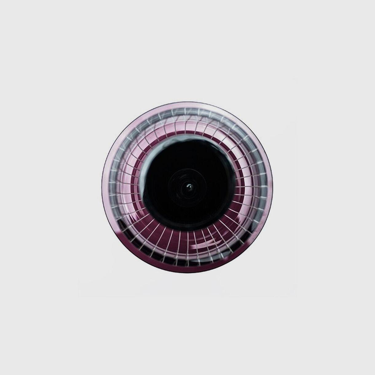 Toy Vase, Black & pink