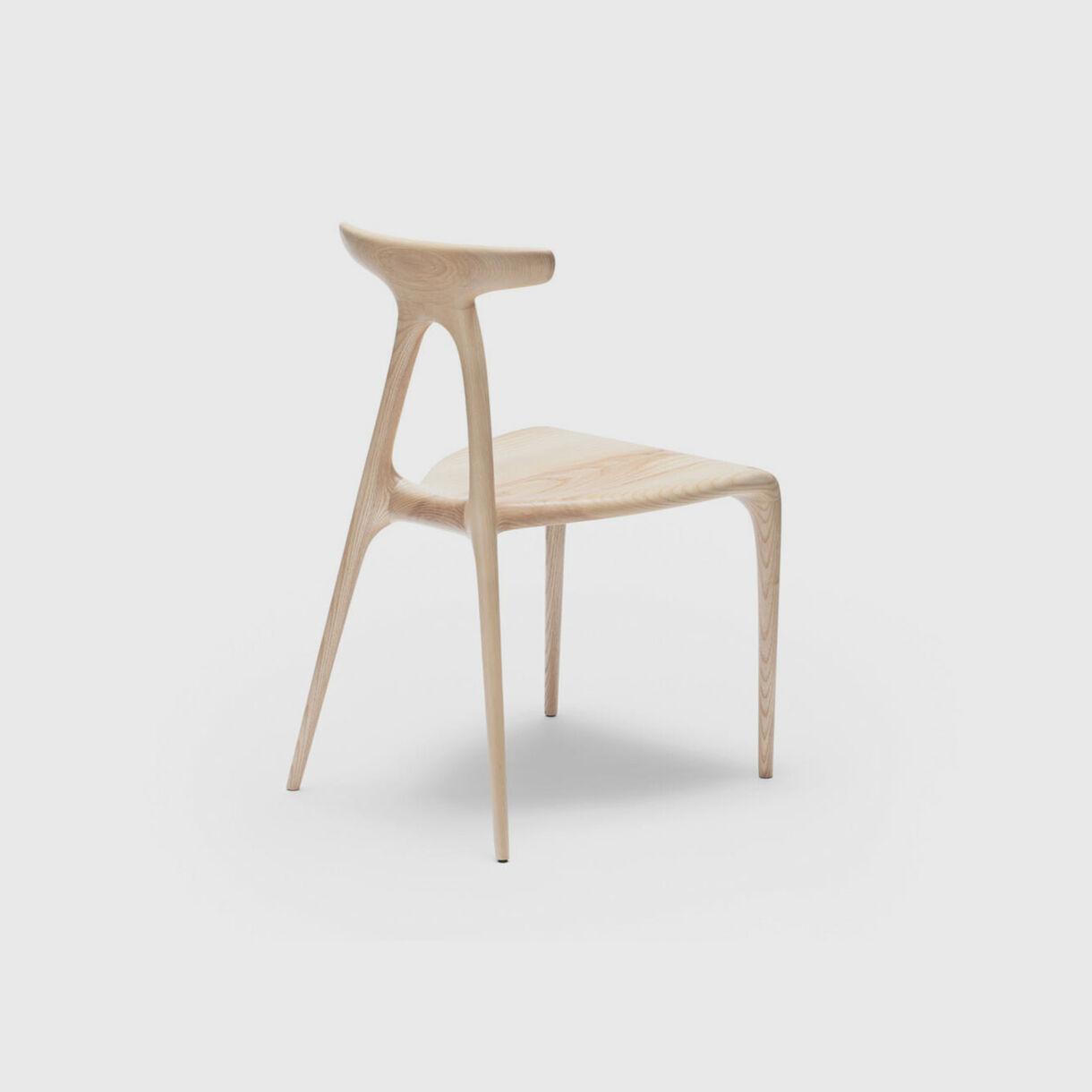 Alpha Chair, Ash, Back Angled