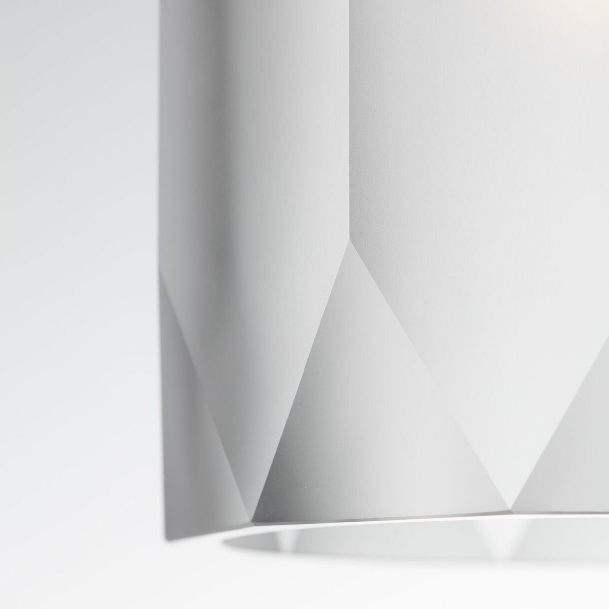 Polygon Pendant Lamp, Clear, Detail