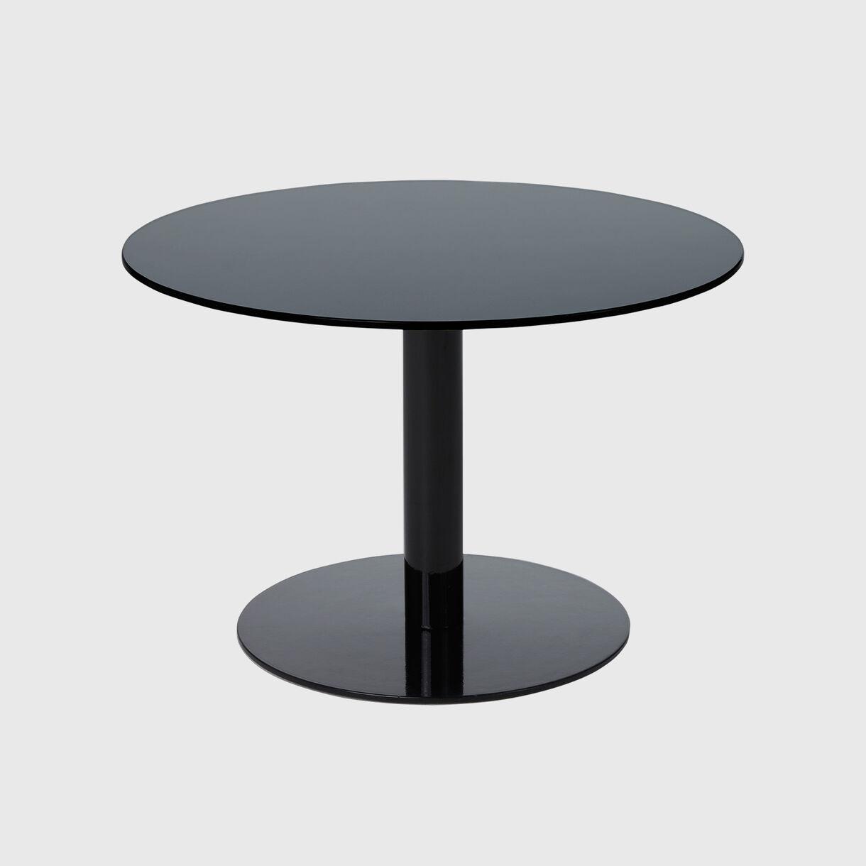 Flash Table Circle, Black