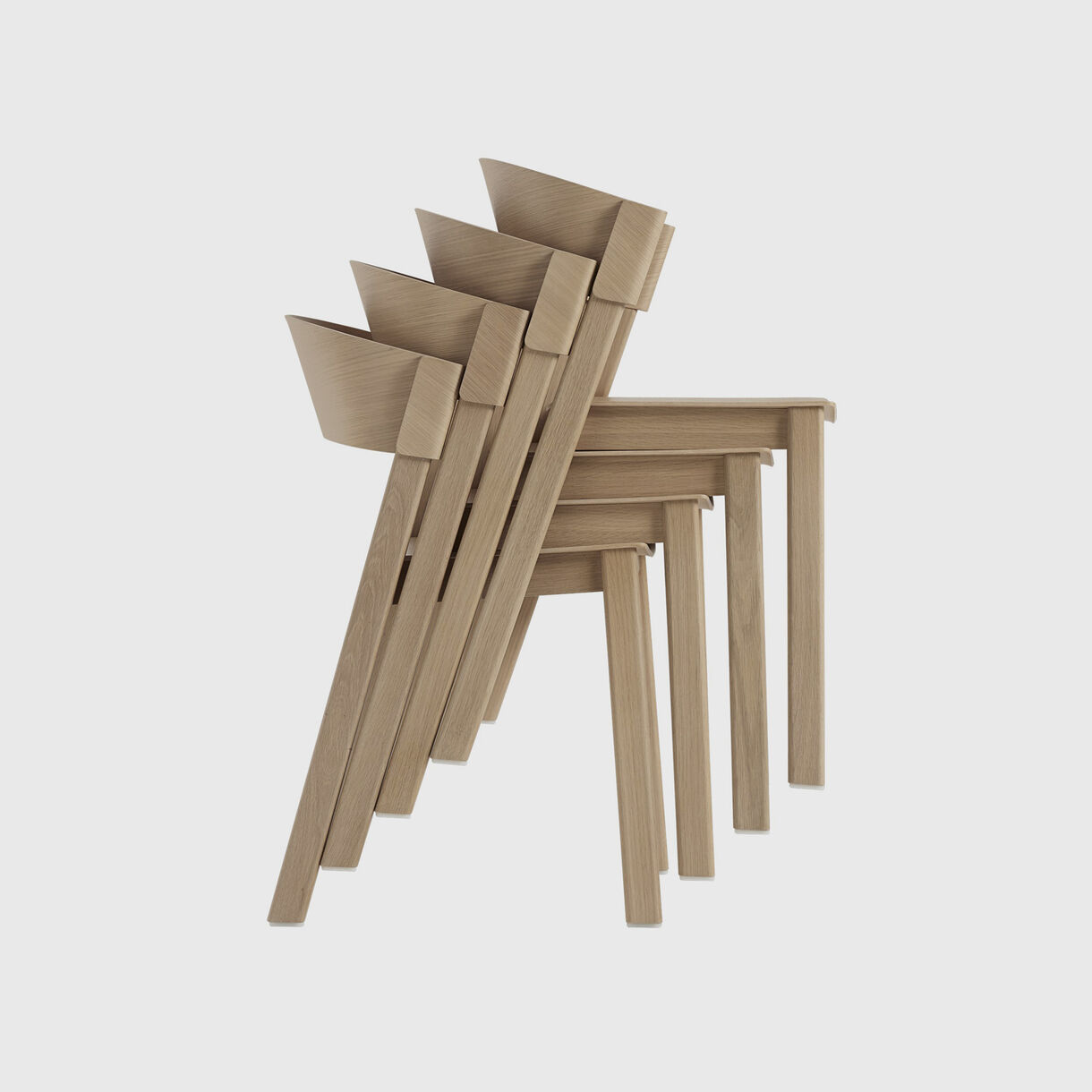Cover Side Chair, Oak