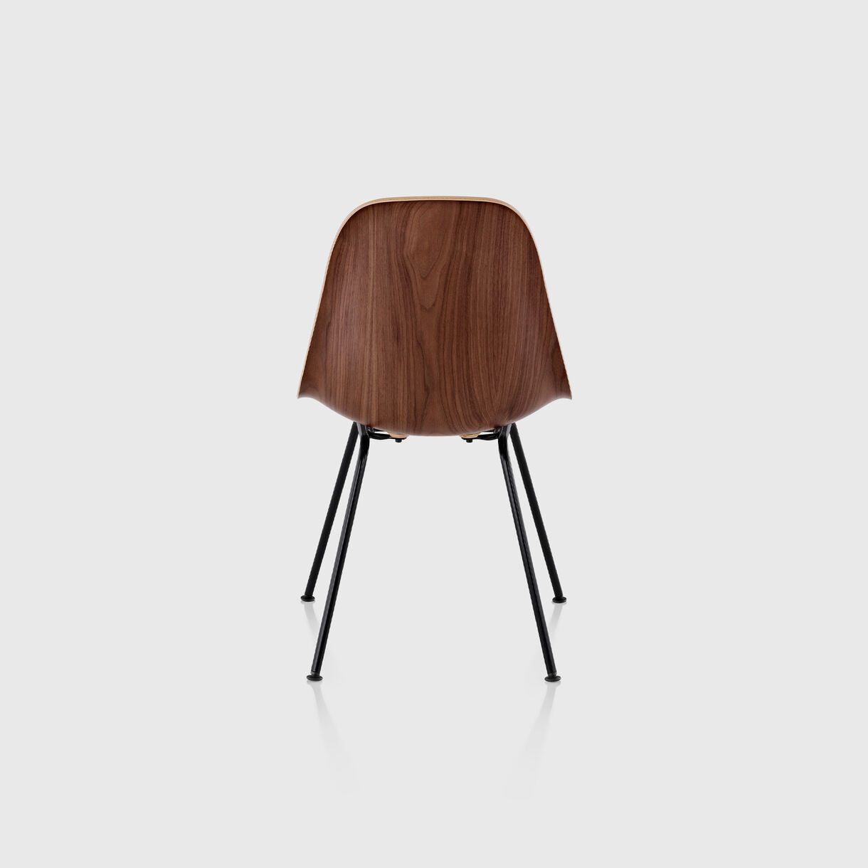Eames Moulded Wood Side Chair, 4-Leg Base
