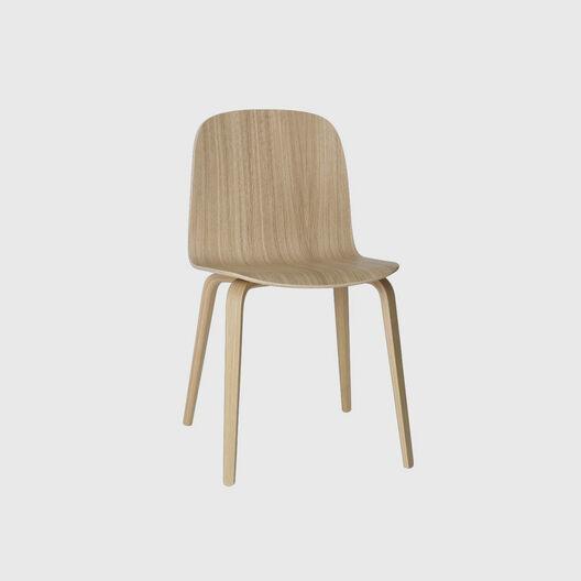 Visu Chair, Wood Base