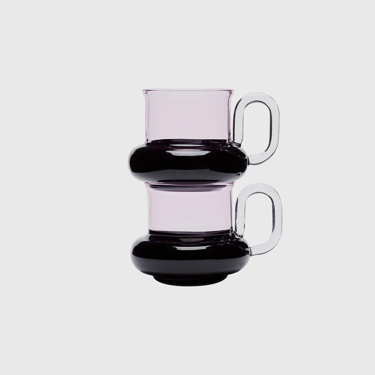 Bum Tea Cups, Stacked
