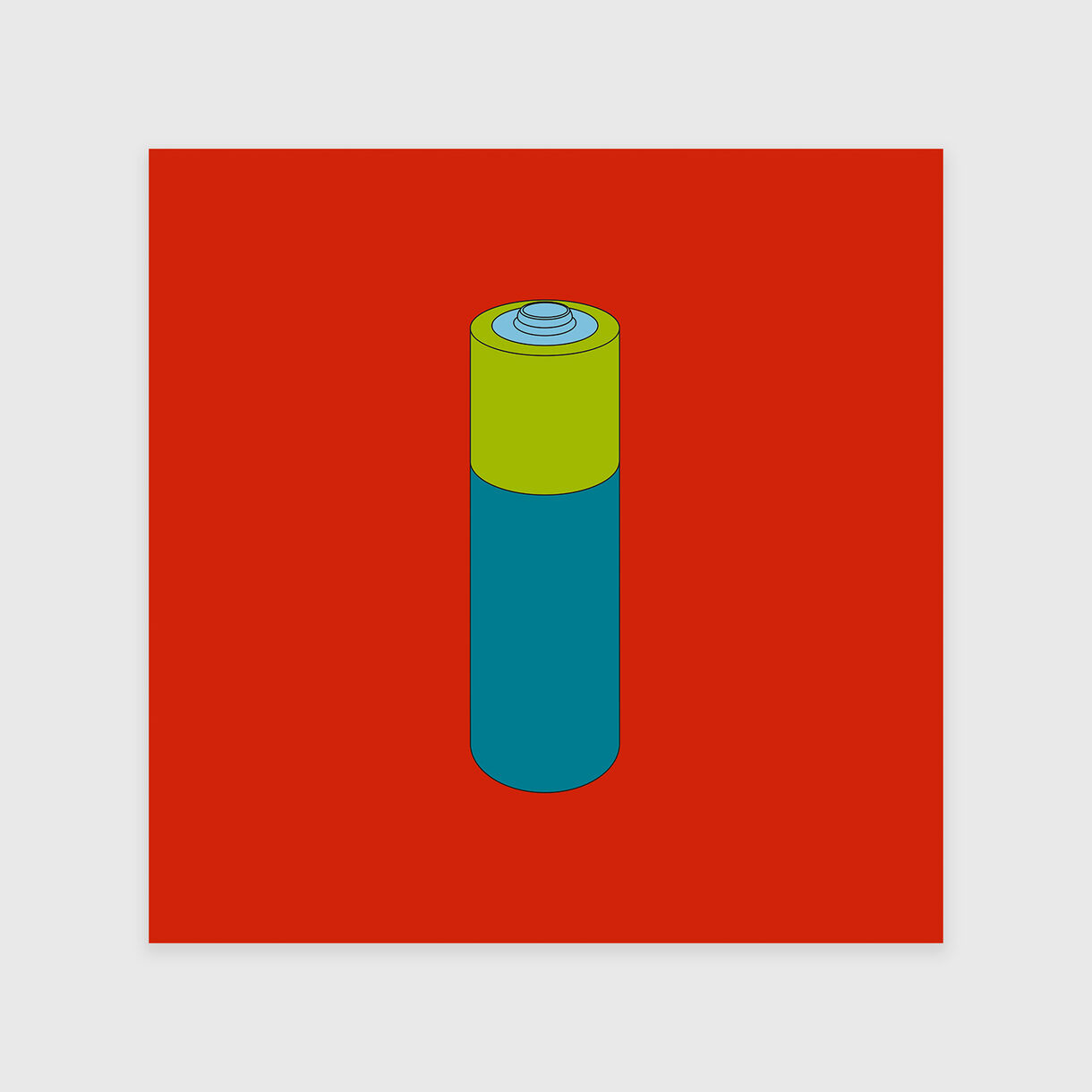 Long-life Battery, Michael Craig-Martin