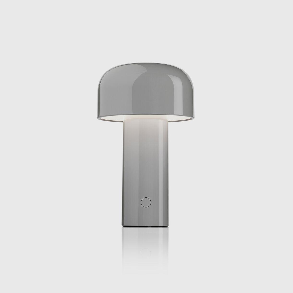 Bellhop Table Lamp, Grey