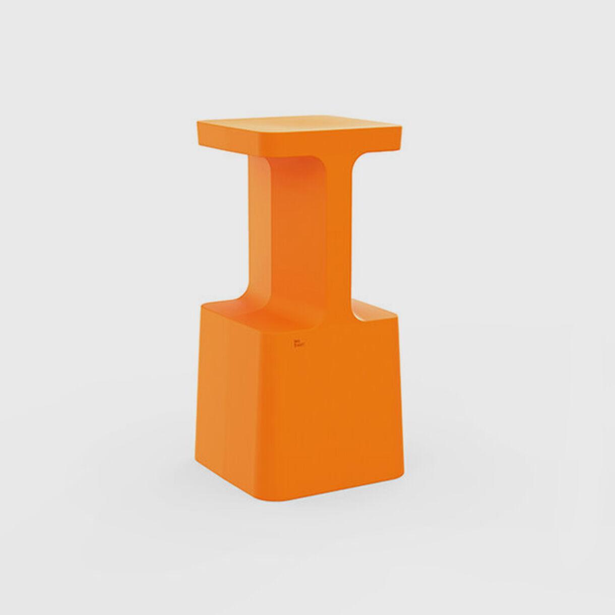 S1 Stool, High, Orange