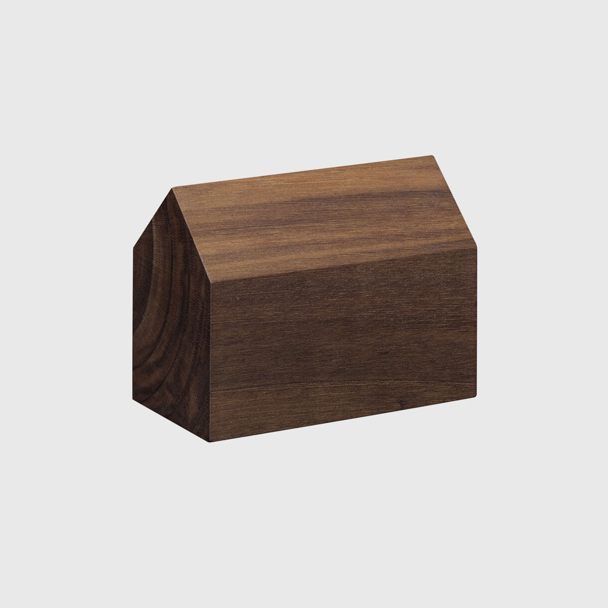 Haus Paper Weight, Saddle Large, European Walnut