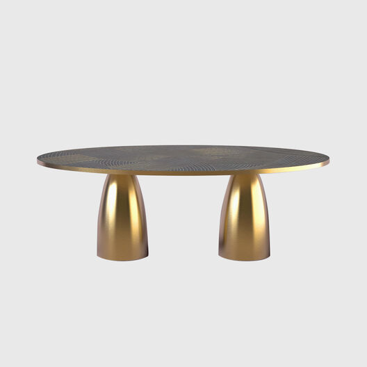 Lustre Oval Dining Table