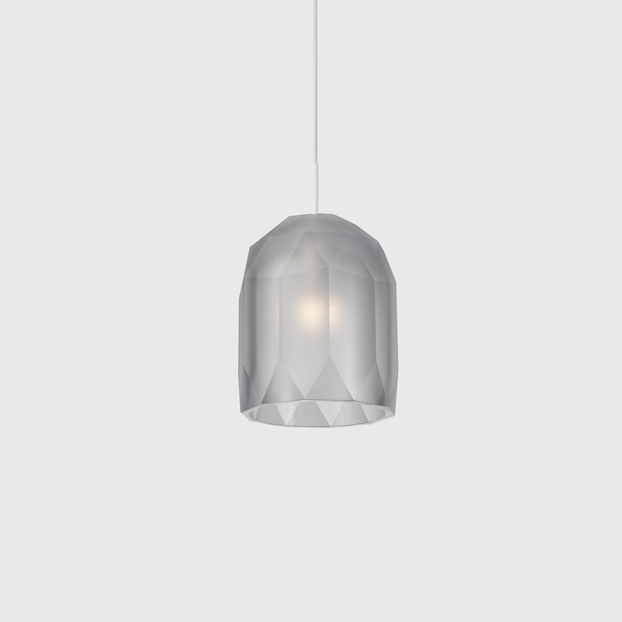 Polygon Pendant Lamp, Clear