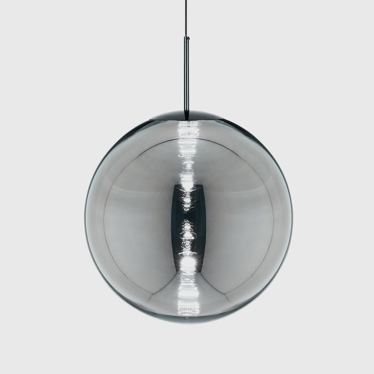 Globe Pendants, Chrome
