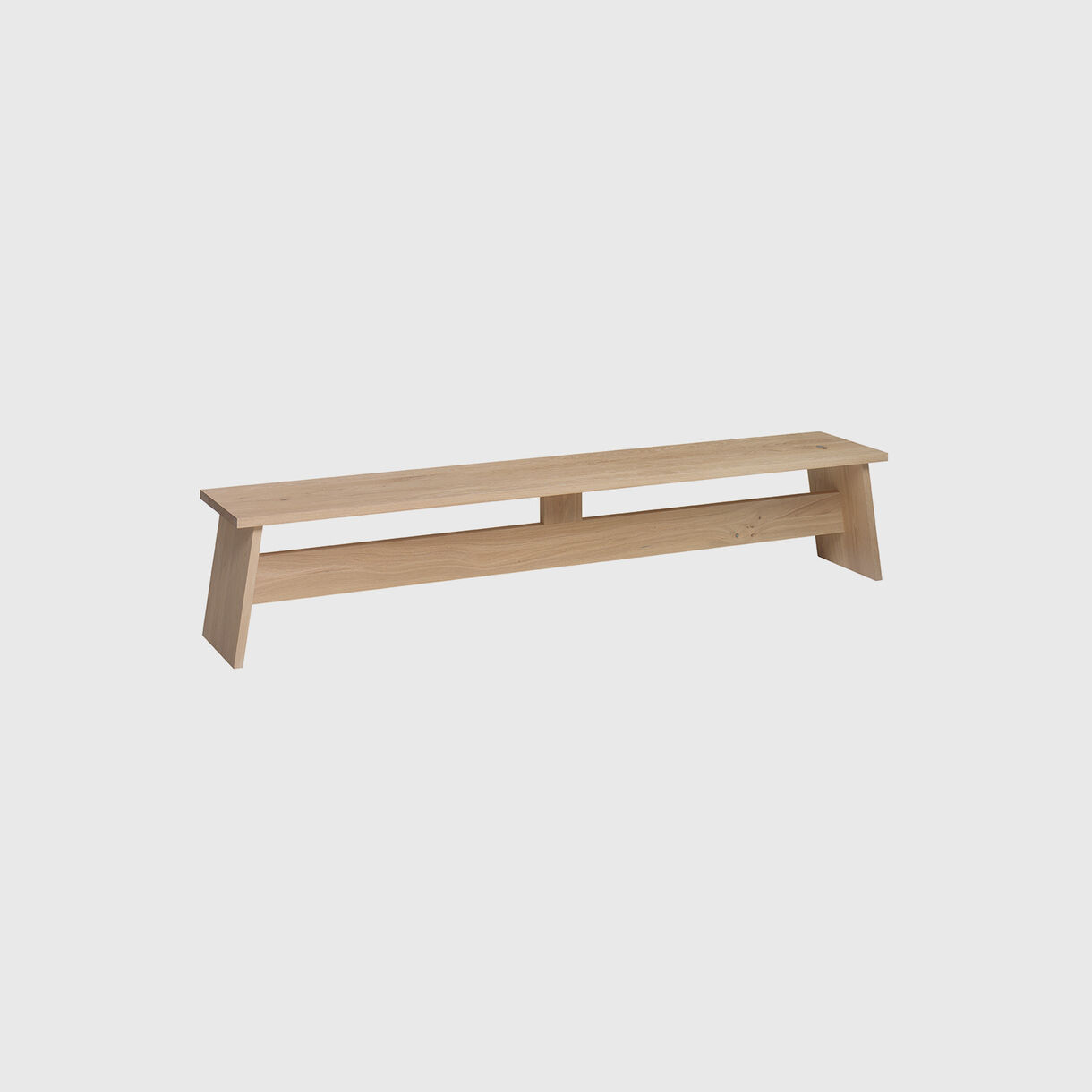 Fawley Bench, Oak White Pigmented