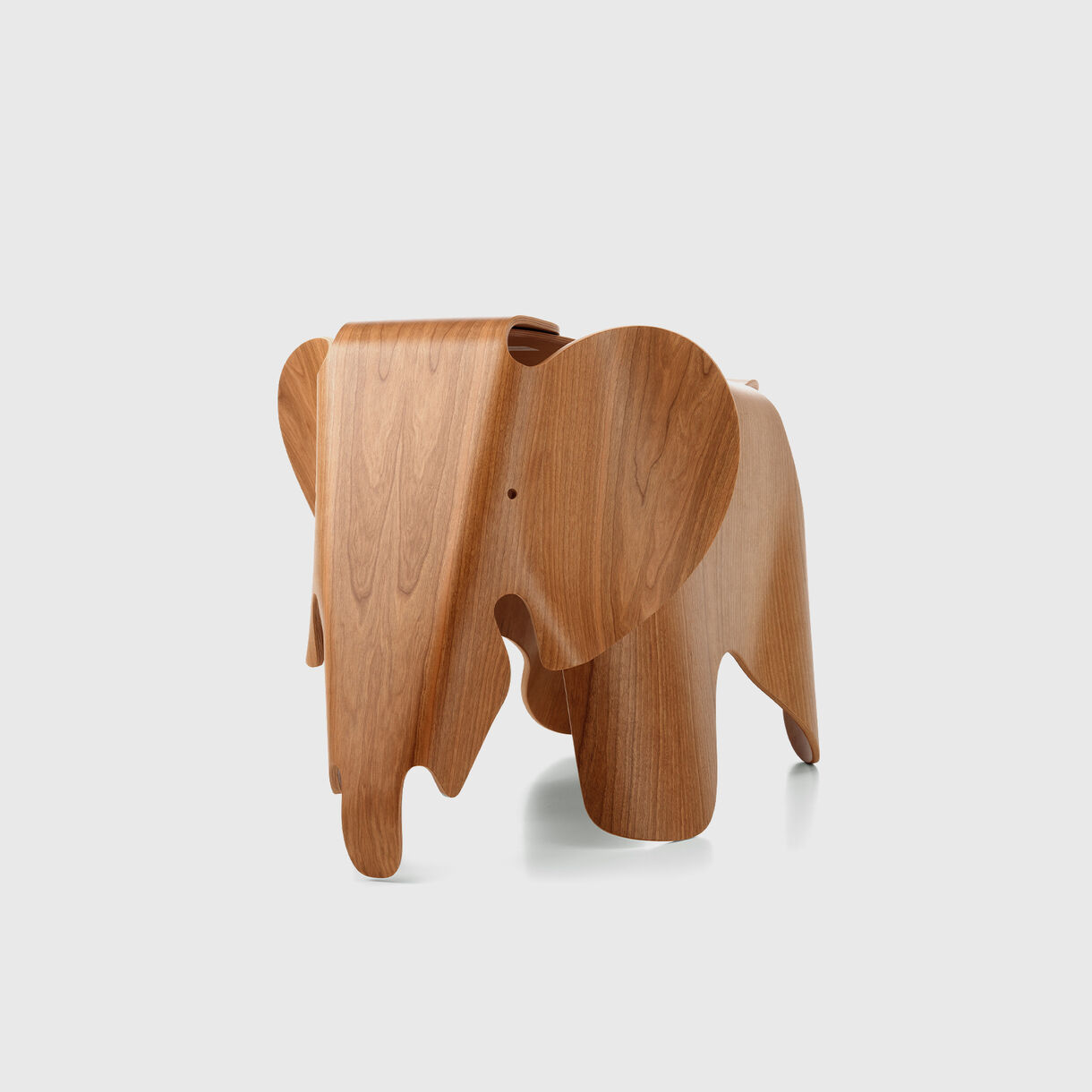 Eames Elephant, Plywood, Front Angled