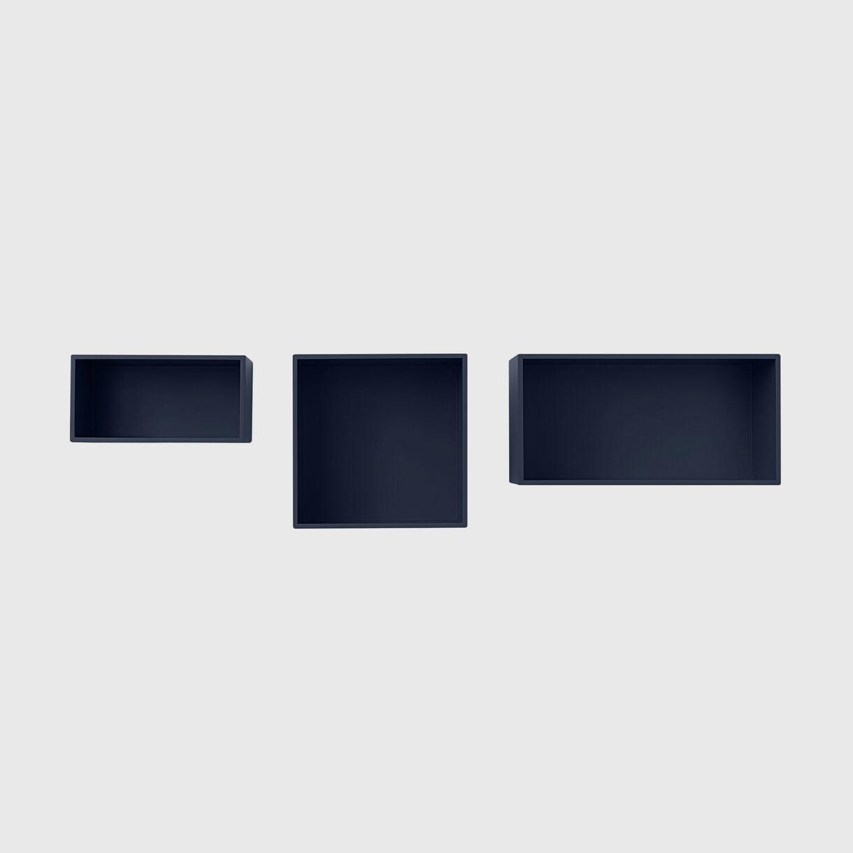 Mini Stacked Storage System 2.0, Midnight Blue