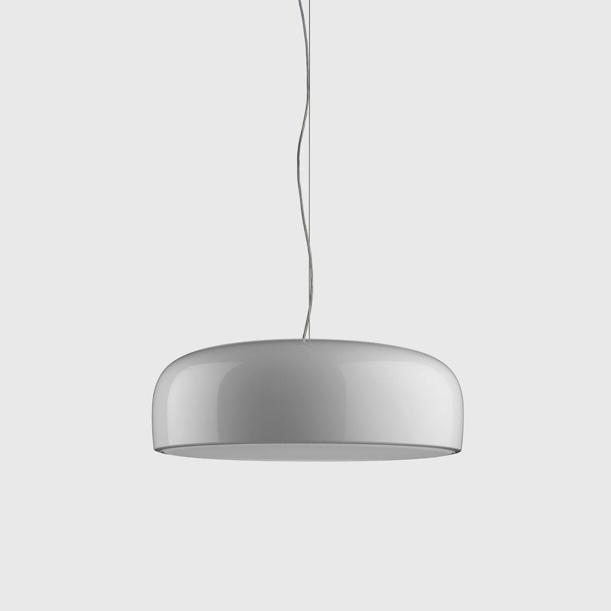Smithfield Suspension Lamp, White