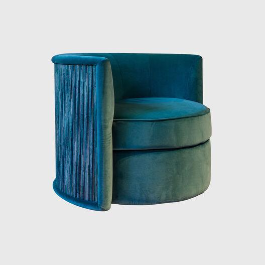 Jade Stone Swivel Chair