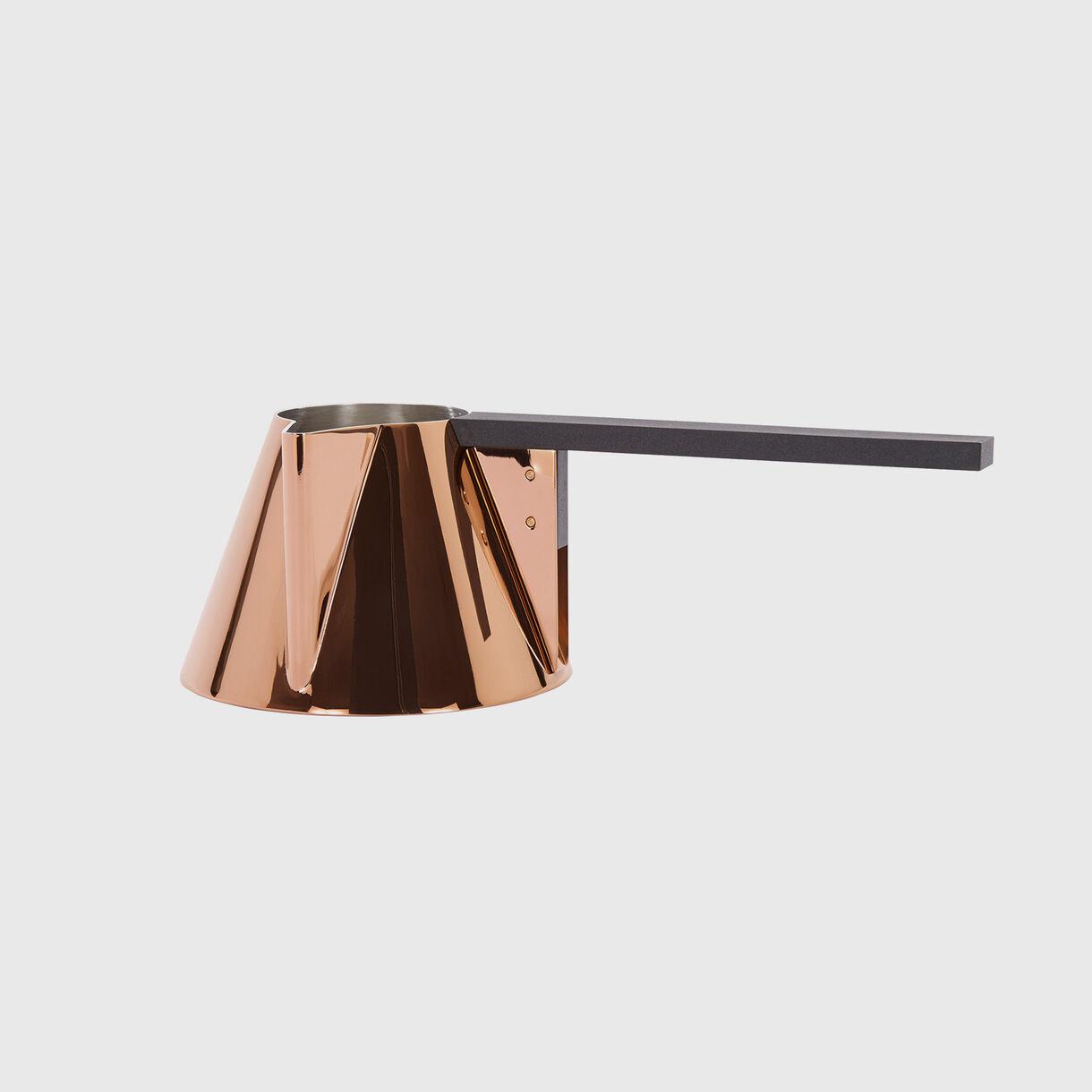 Brew Milk Pan, Copper