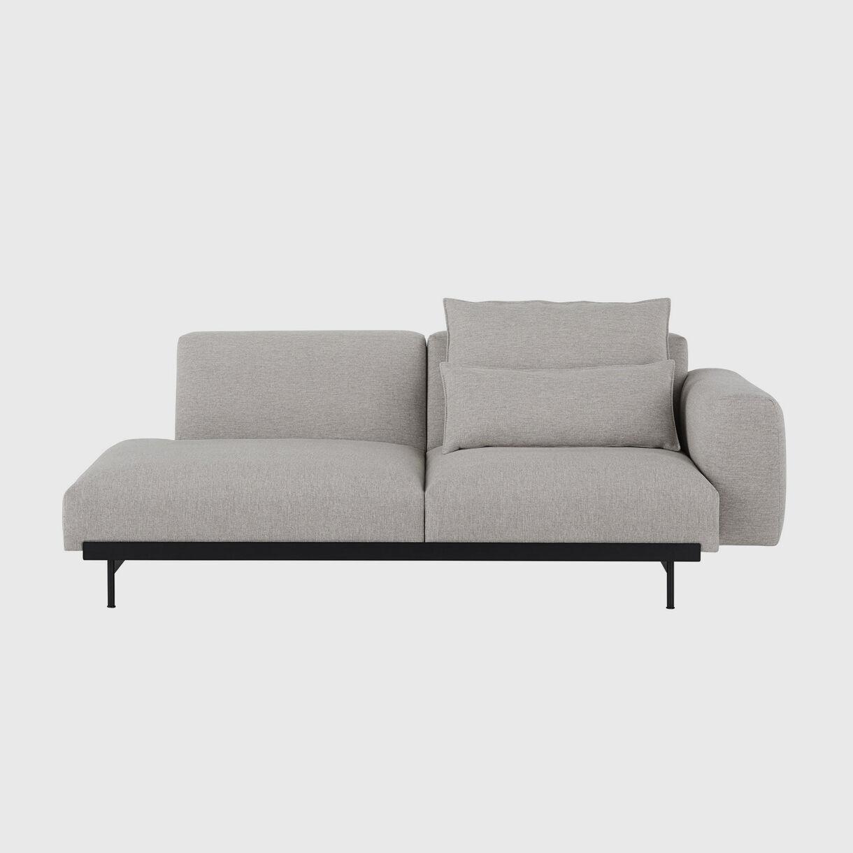 In Situ 2 Seater Sofa, Configuration 2, Clay 12