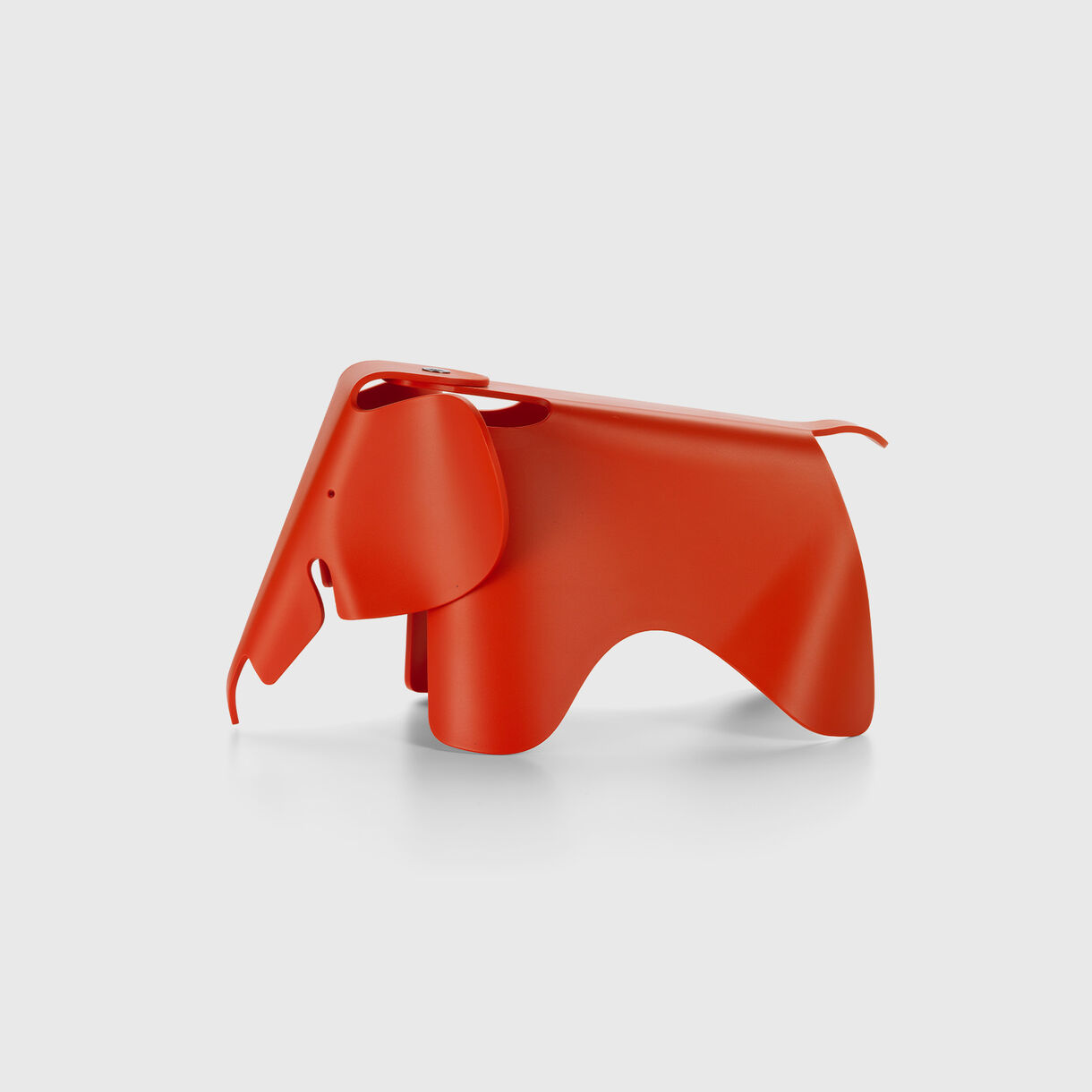 Eames Elephant Small, Poppy Red