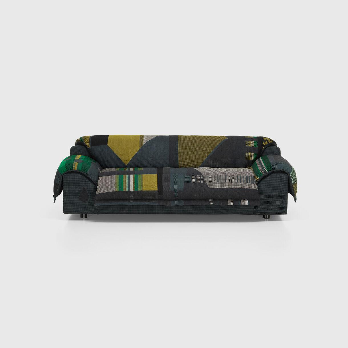 Vlinder Sofa, Dark Greens