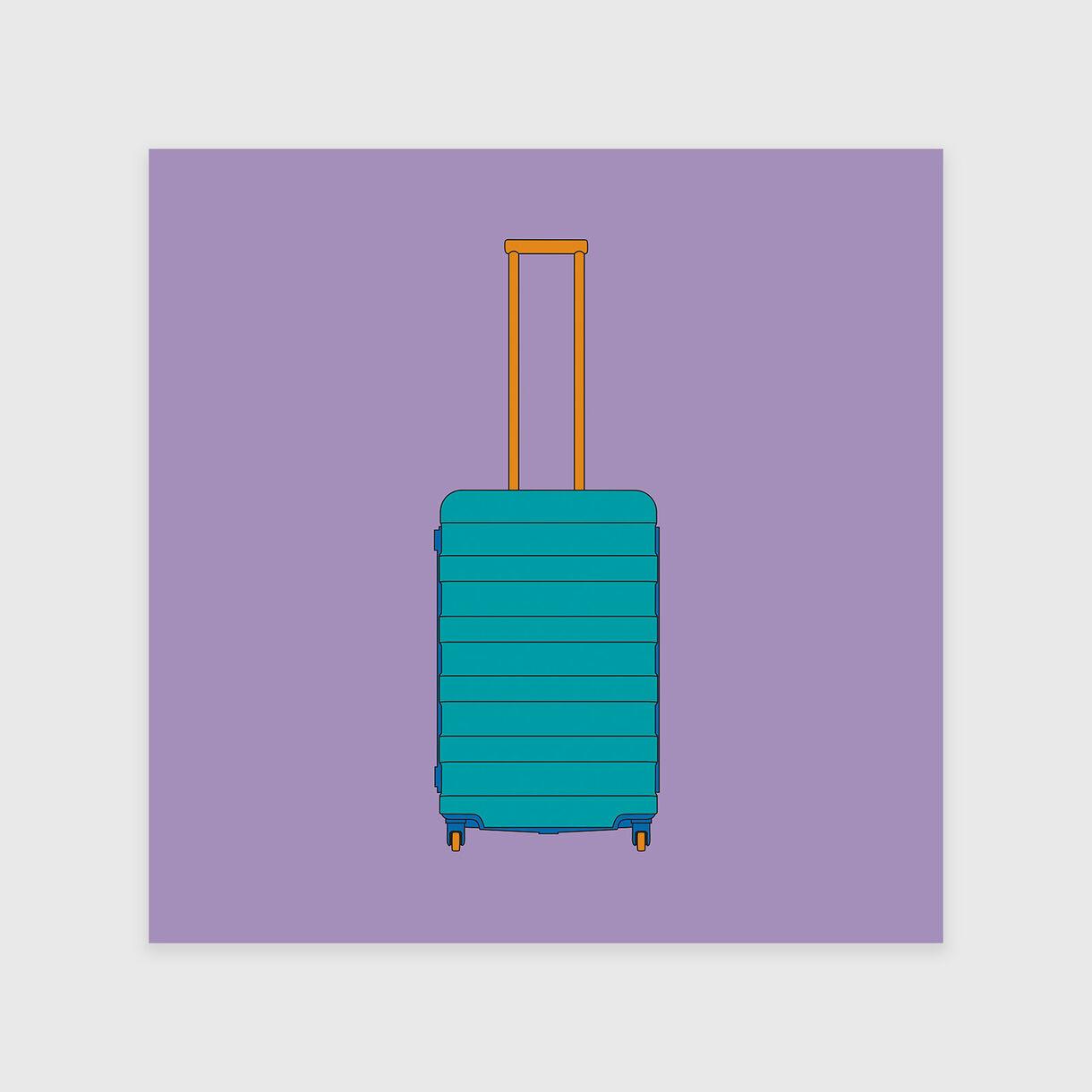 4 Wheel Suitcase, Michael Craig-Martin