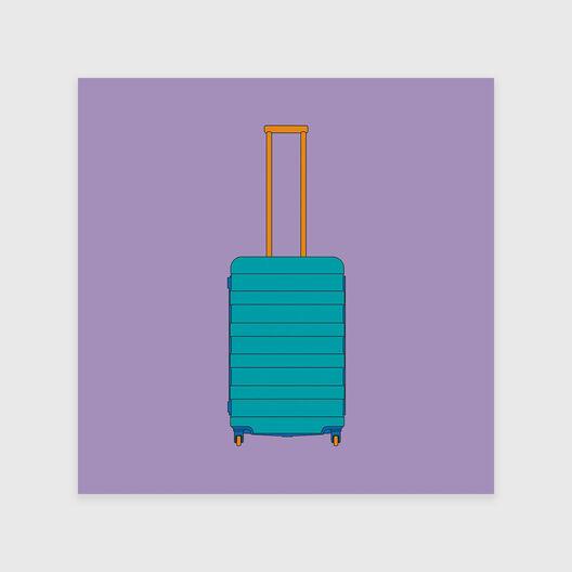 4 Wheel Suitcase (2014)