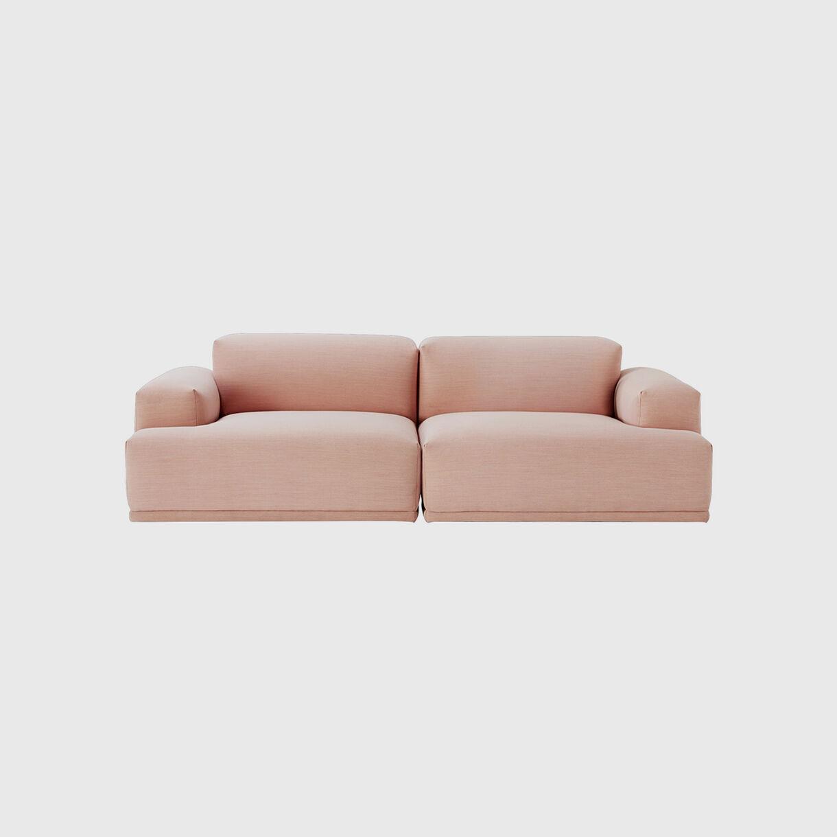 Connect Sofa, 2 Seater, Steelcut Trio 515