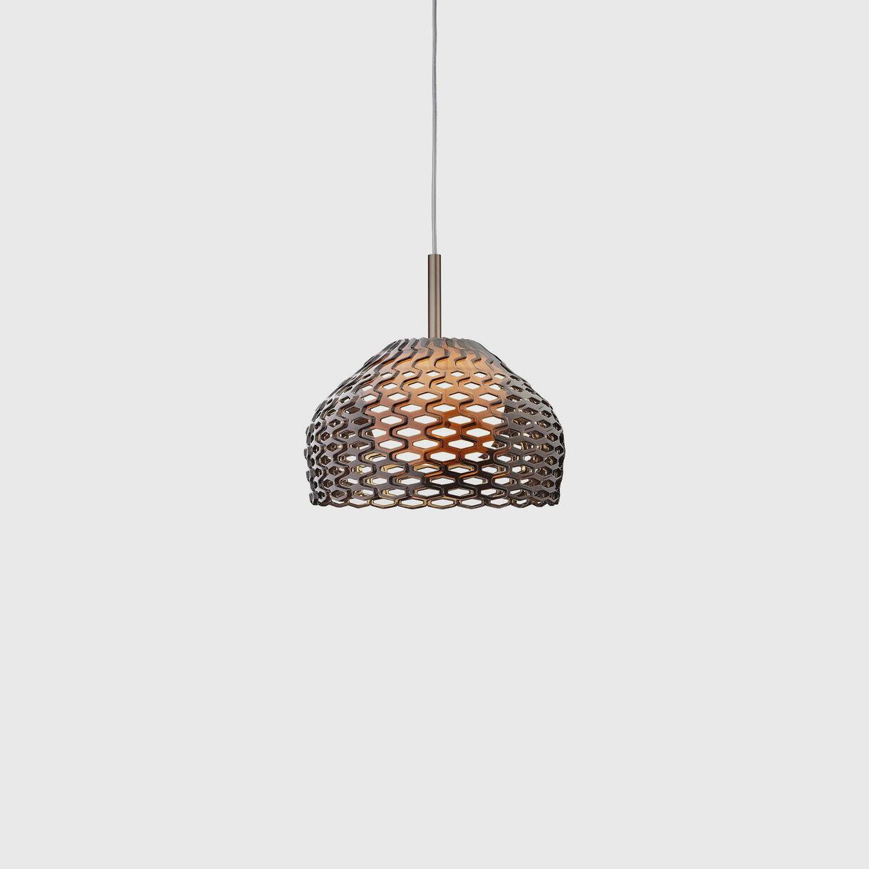 Tatou Suspension Lamp S1, Ochre Grey