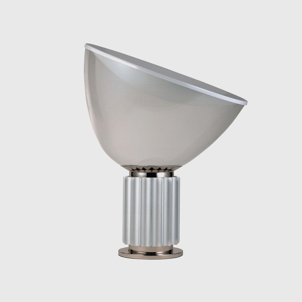 Taccia Table Lamp, Silver