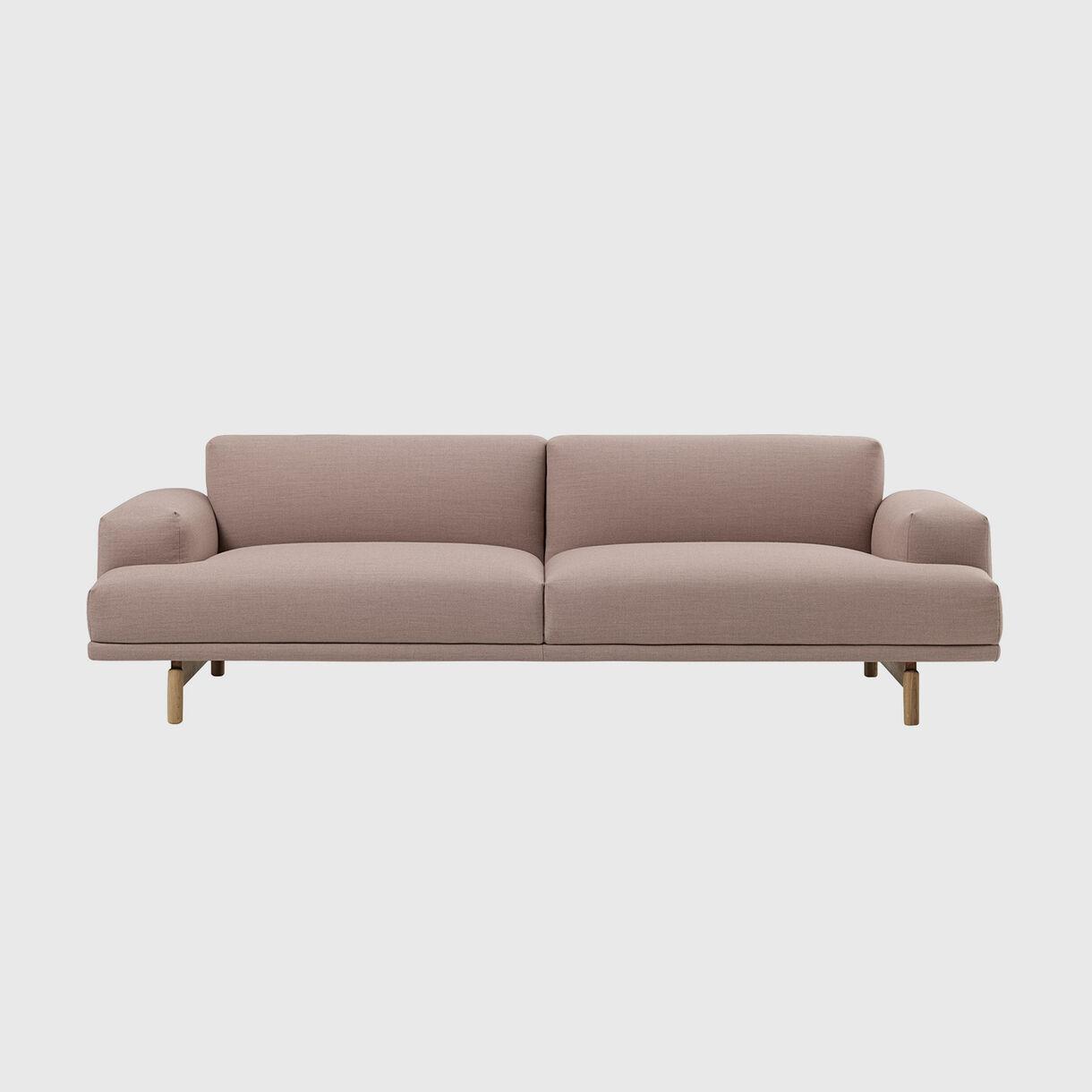 Compose Sofa, 3 Seater, Fiord 551