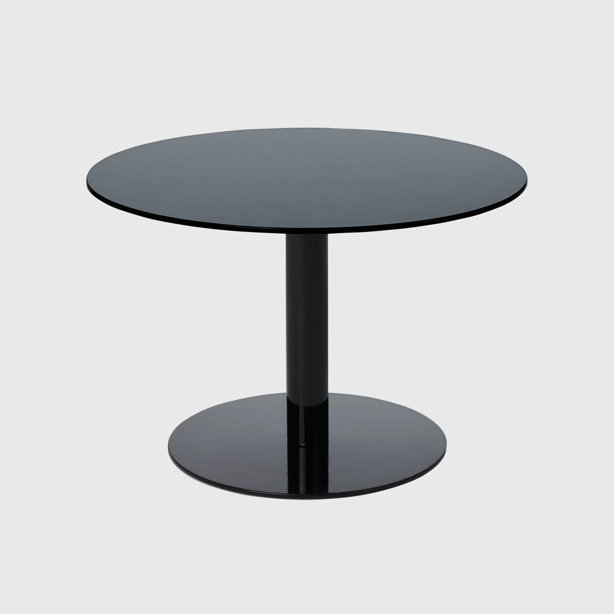 Flash Table Circle, Black