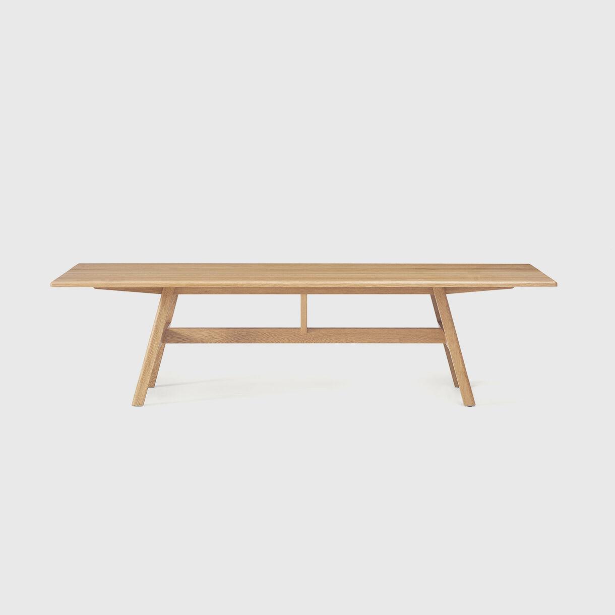 Kant Table, White Oak