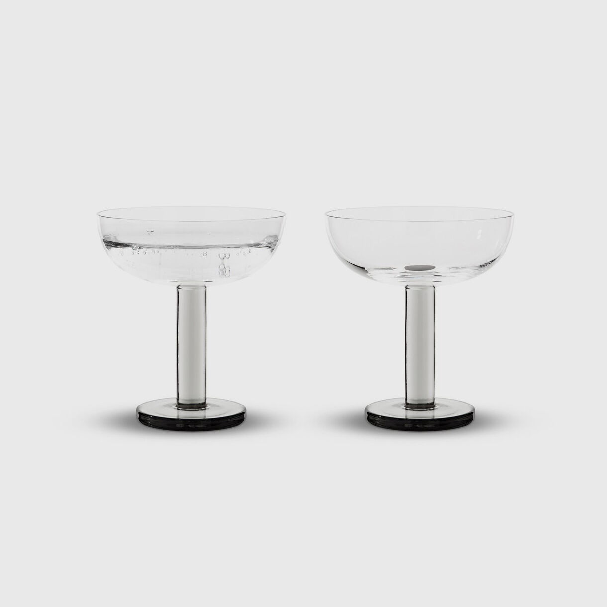 Puck Coupe Glasses