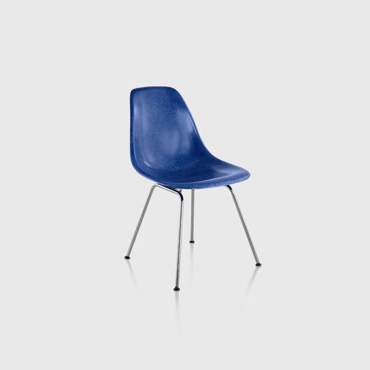 Eames® Moulded Fibreglass Side Chair, 4-Leg Base