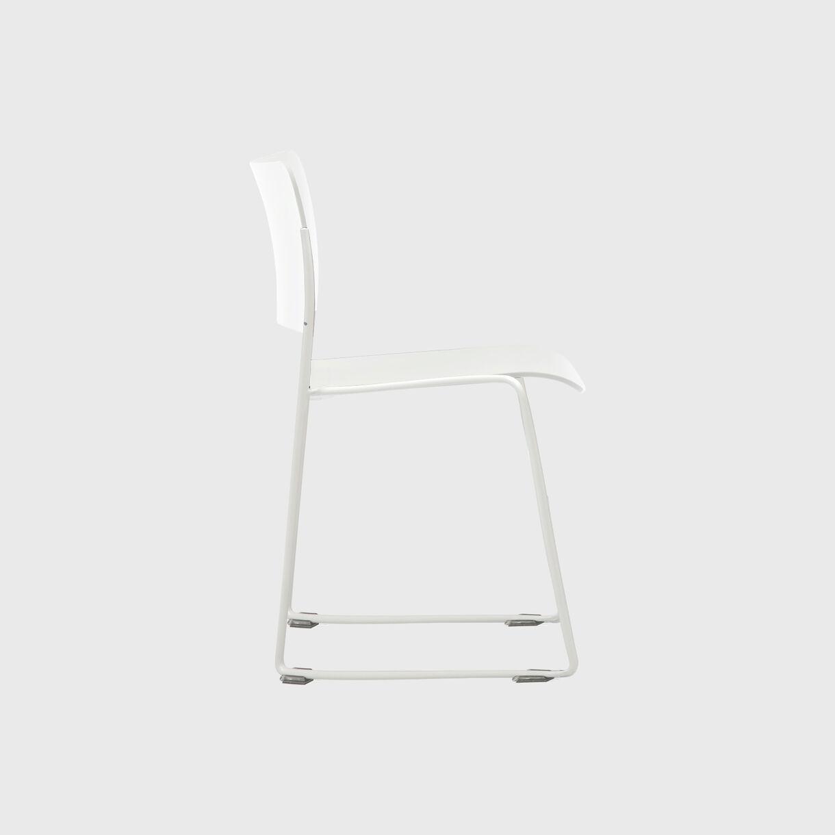 40/4 Chair, Coconut White