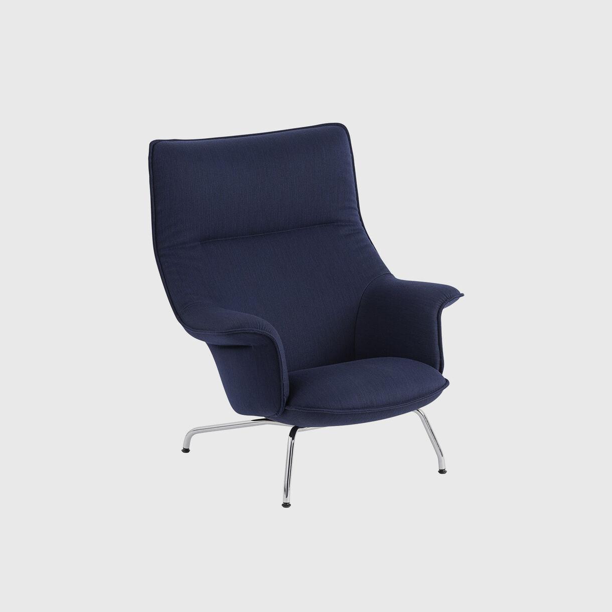 Doze Lounge Chair, Balder 782 & Chrome