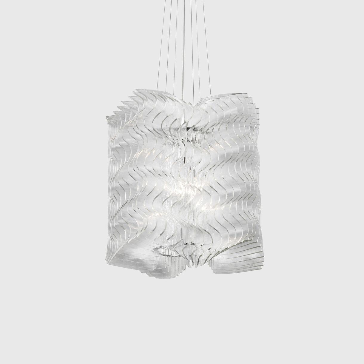 Plisse Pendant Lamp, Small