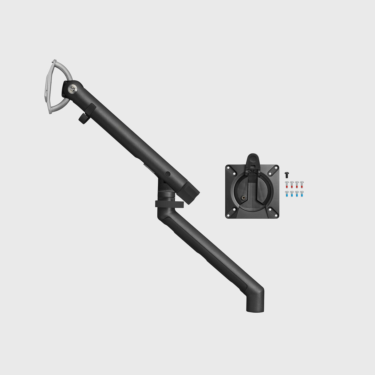 Flo Monitor Arm, Black