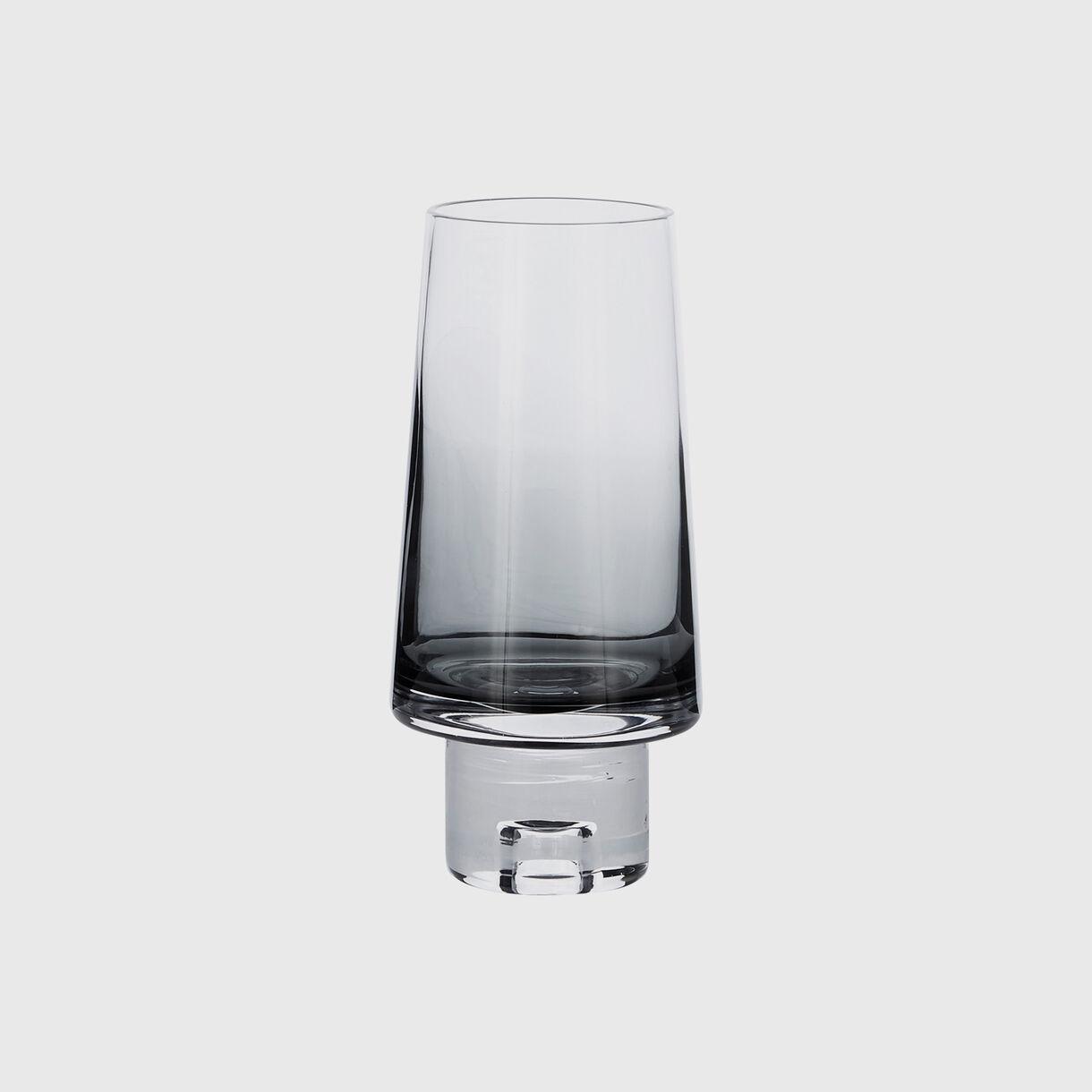 Tank High Ball Glass, Black