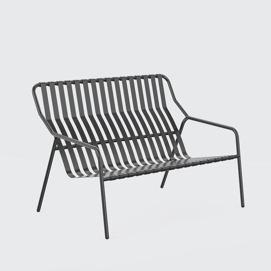 Strap 2 Seater Lounge Chair