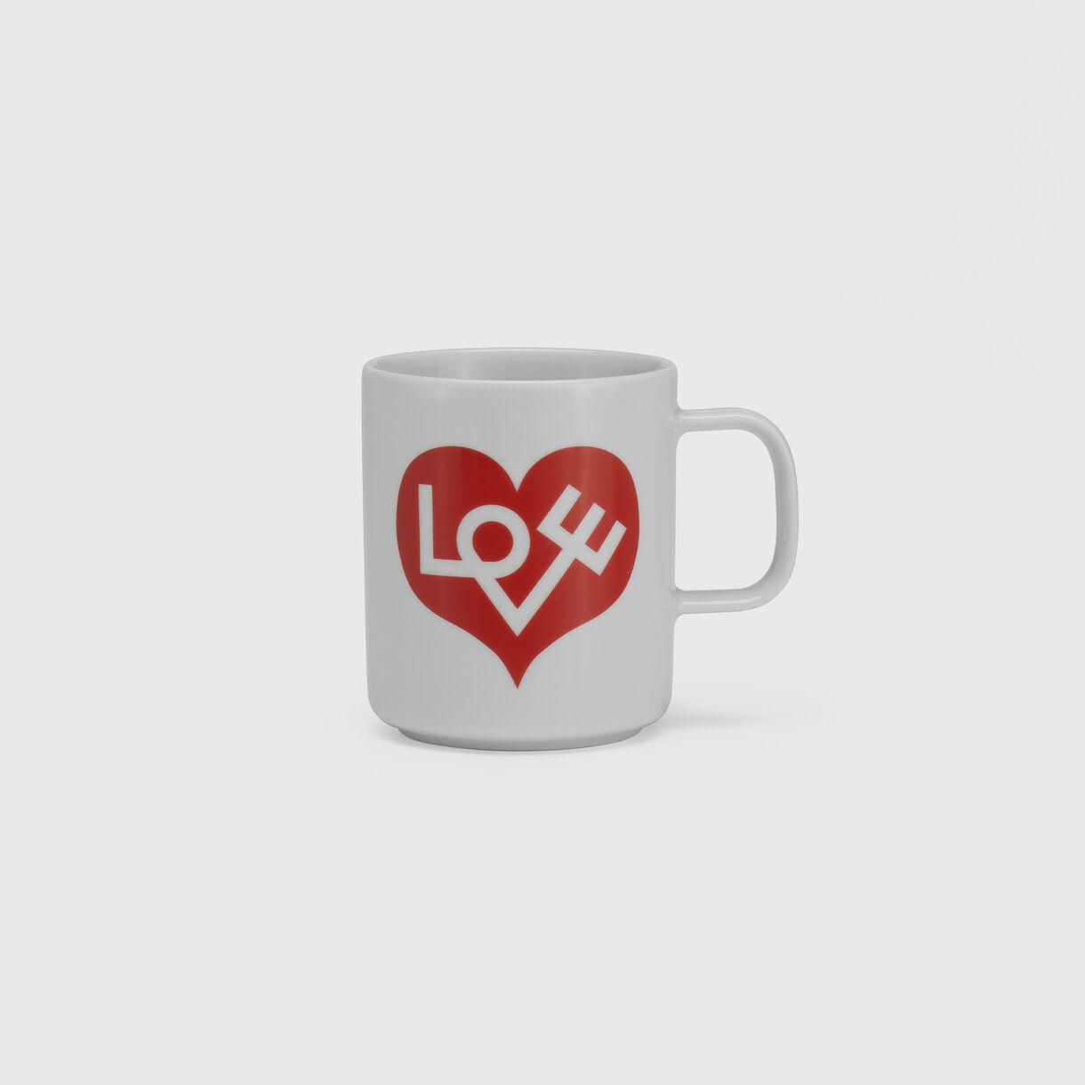 Girard Coffee Mug, Red Love Heart