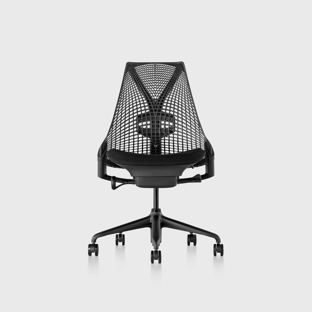 Sayl Chair, Black, No Arms
