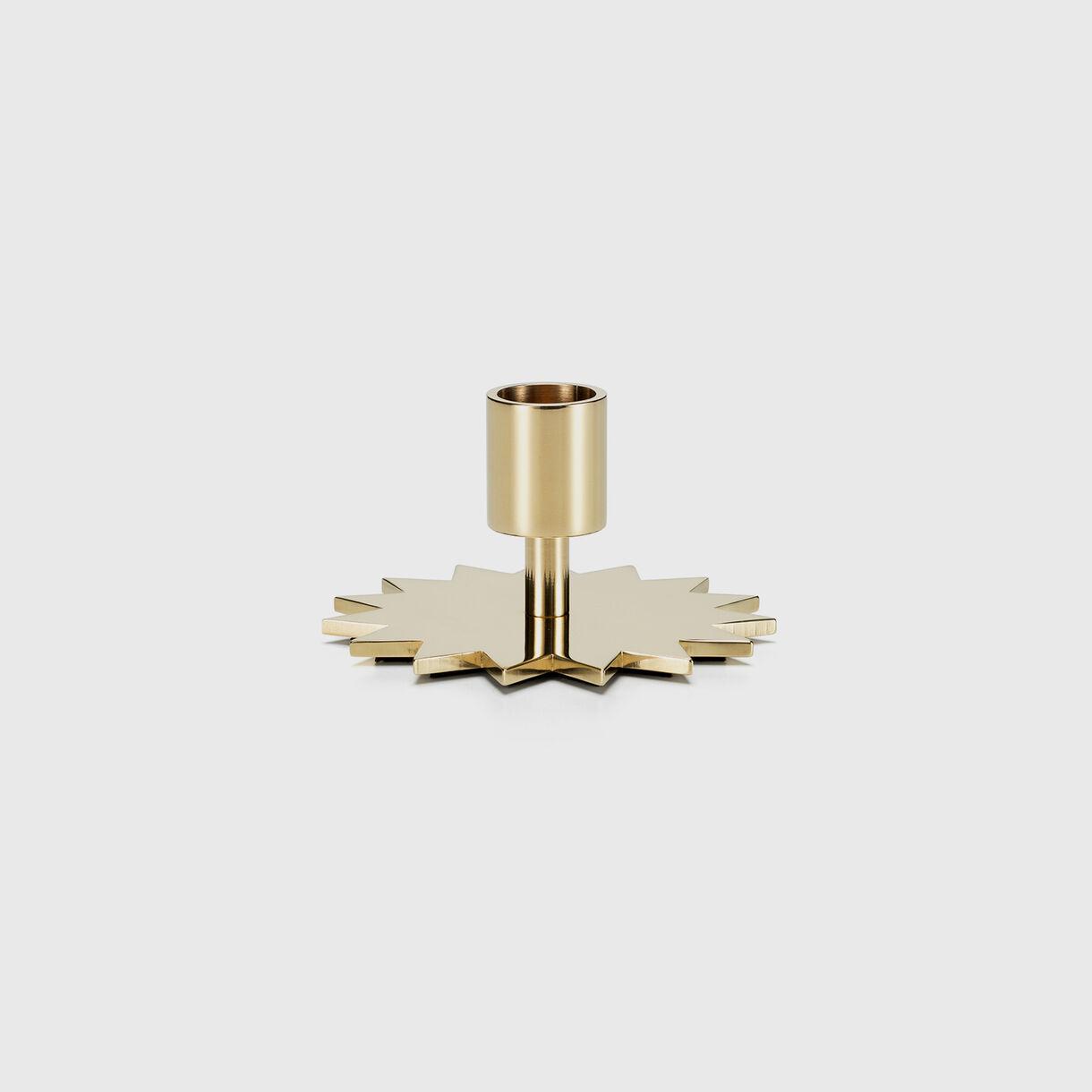 Girard Brass Candle Holder, Star