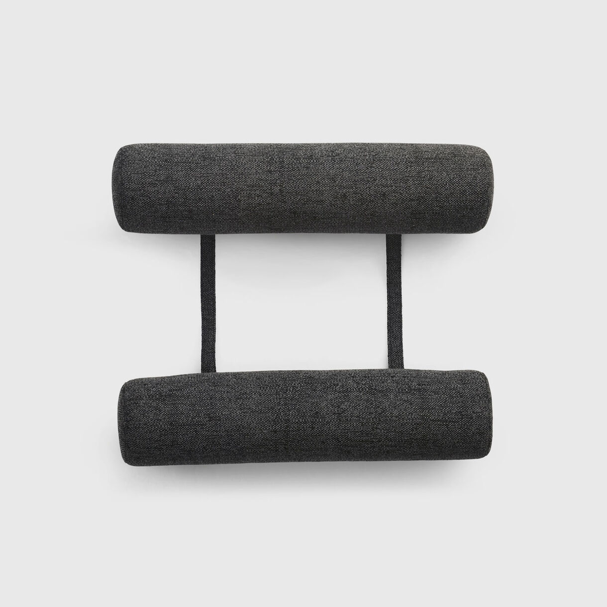 Sol+Luna Bolster Pillow Set, Sooty Anthracite