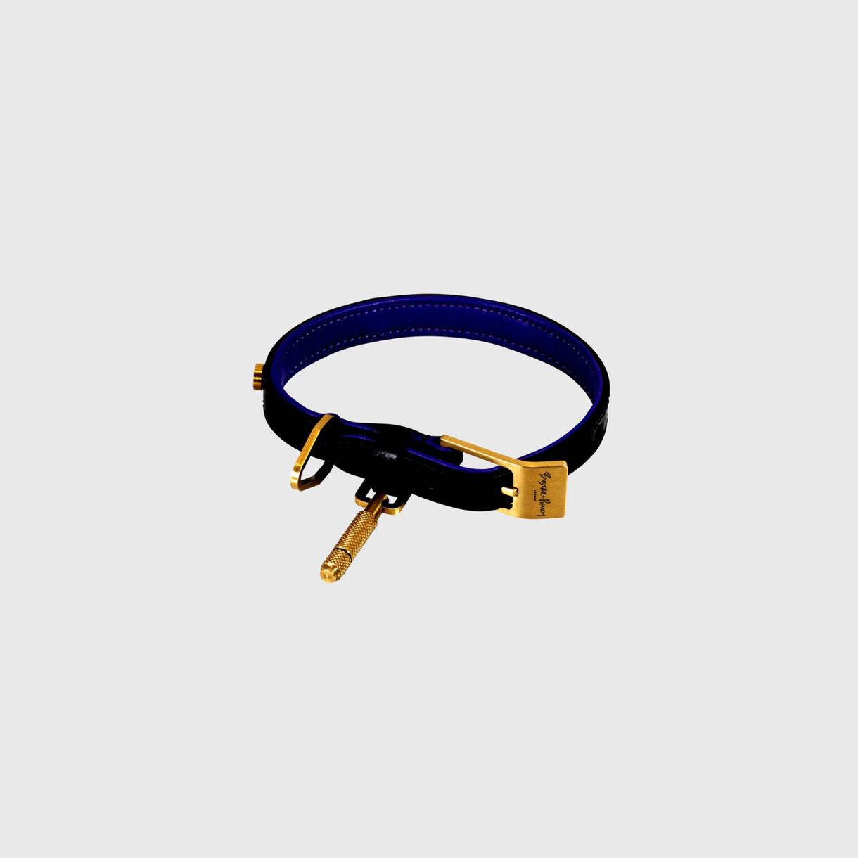 Dog Collar, Small, Brass